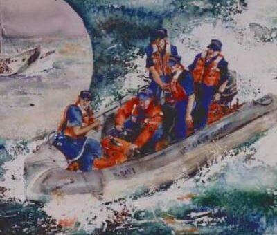 Coast Guard Art, Elkhorn Inn & Theatre